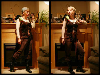 Pirate Costume by rissdemeanour