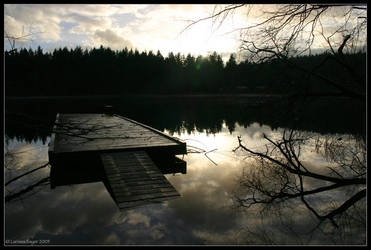 Lake of Glass by rissdemeanour