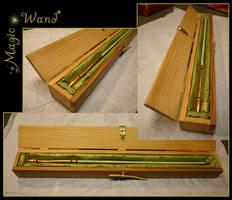 Magic Wand by rissdemeanour