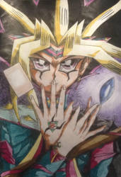 Yami Yugi - Let's try some magic by Jdlove22