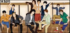 YA BOYS by MrsKanda