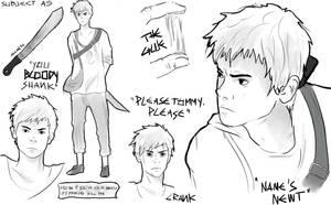 The Maze Runner character sheets: Newt by MrsKanda
