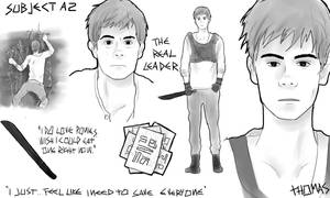 The Maze Runner character sheets: Thomas by MrsKanda