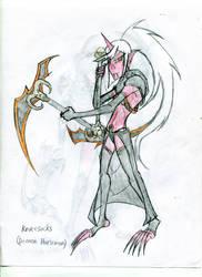 Kneesocks- Demon Horseman by hailenvy