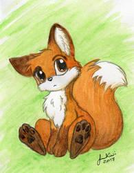 Chibi Fox by jenkiwi