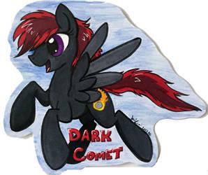 Dark Comet badge by jenkiwi