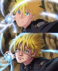 Naruto screenshot redraw by Extremol