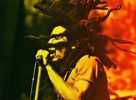 Bob Marley by Quadraro