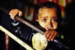 GAZA CHILD by Quadraro