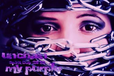 unchain my purple by Quadraro