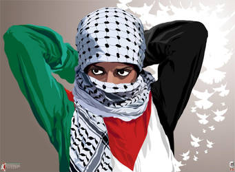 Revolutionary Woman - INTIFADA STREET by Quadraro