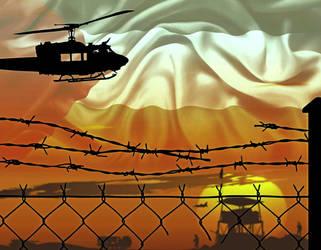 Gaza Concentration Camp by Quadraro