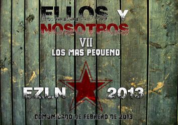 ELLOS y NOSOTROS VII-Lo Mas Pequeno by Quadraro