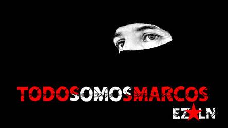 Todos Somos Marcos - Wallpaper by Quadraro