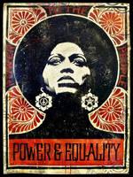 Nina Simone by Quadraro
