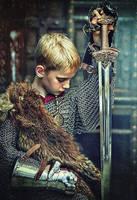 Viking  Warrior Kid by Quadraro
