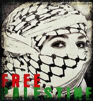 Free Palestine by Quadraro