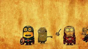 Minion Avengers by Quadraro