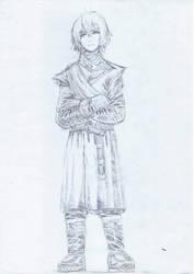 Hachi Lannister by Leafymechypen