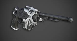 Sci Fi Pistol by Hayden-Zammit