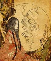 .:: Kaguya Hime's smile ::. by Cholesterol-Bird