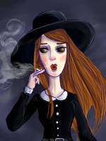 AHS: Coven - Zoe by Alleby