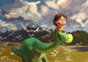 Good dinosaur by Kam-Fox