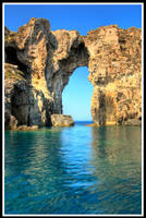 Greece-The entrance -portrait- by StamatisGR
