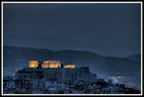 The Parthenon by StamatisGR