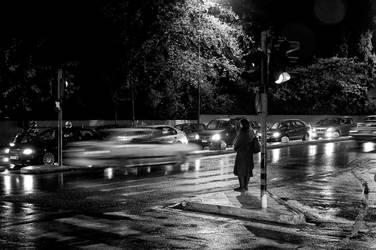 Warm light, cold women by StamatisGR