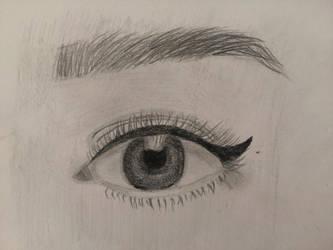Realistic Eye Practice by nena-linda-pink