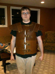 Leather armor. by Ziphos123