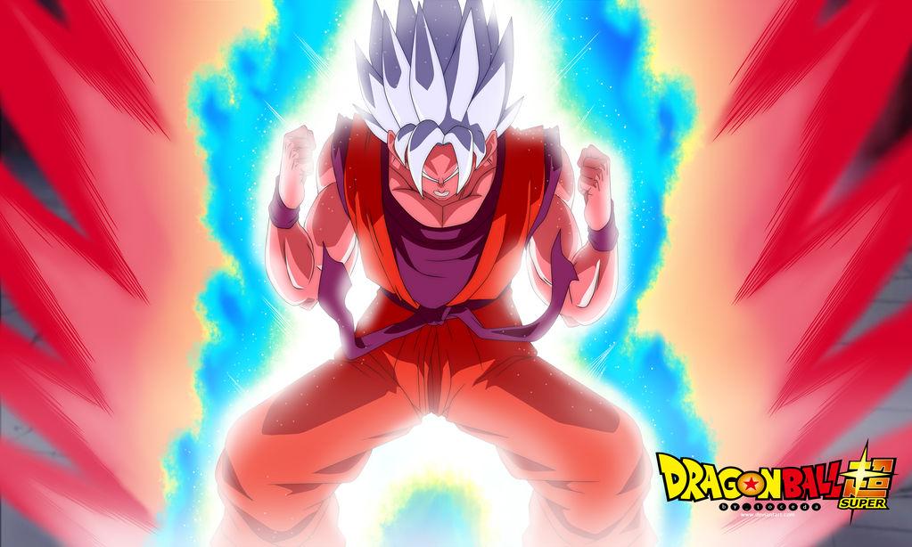 Goku Ssgss Kaioken X 10 By Toceda On Deviantart
