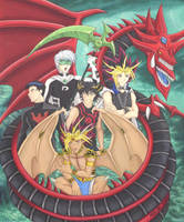 Tribute to Slifer +Completed+ by Yamigirl21