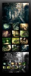 Calendar  - Cemeteries by WojciechDziadosz