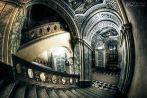 Staircase of  knowledge by WojciechDziadosz