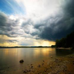 Golden storm by WojciechDziadosz