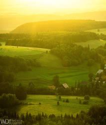 Golden hills by WojciechDziadosz