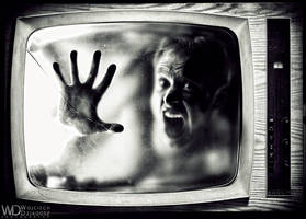 Prisoner of  television by WojciechDziadosz
