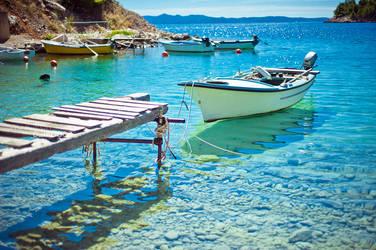 Croatian Boat by WojciechDziadosz