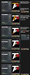 Team Rebel logotype tutorial in Black Ops by Respectless