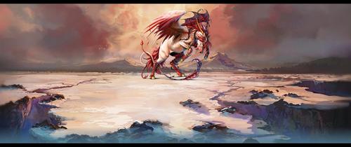 Dragon Horse by Lolitalove2B