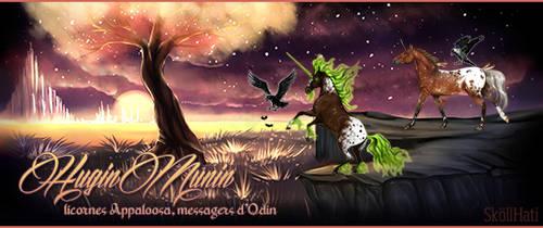 Howrse - HuginMunin by Lolitalove2B