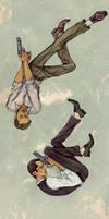 Free falling by Tatarnikova