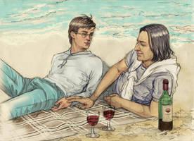 Summer Breeze And a Little Romance by Tatarnikova