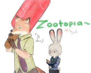Zootopia - Popsicle by Y2shuu