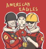TF2- American Eagles by kakaleng1