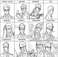 Expression meme- Medic by kakaleng1