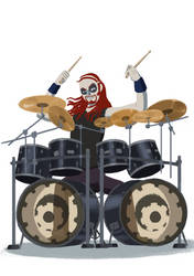 Mtl- Pickles the Drummer by kakaleng1