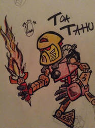 Toa Tahu (Finished) by apolloscooter